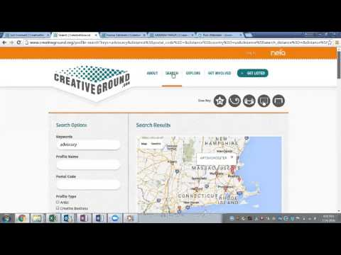 How to Use CreativeGround to Find Collaborators and Explore Your Community
