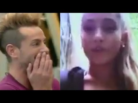 Ariana Grande Surprises Frankie With Sweet Message On Celeb Big Brother