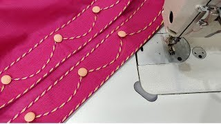 Very stylish salwar mohri design full making / Kataria Sisters