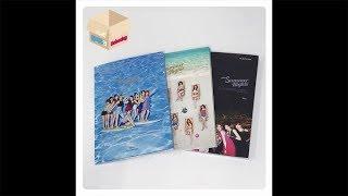 1theK Unboxing(원덕후의 언박싱): TWICE(트와이스) _ 2nd Special Album 'Summer Nights'