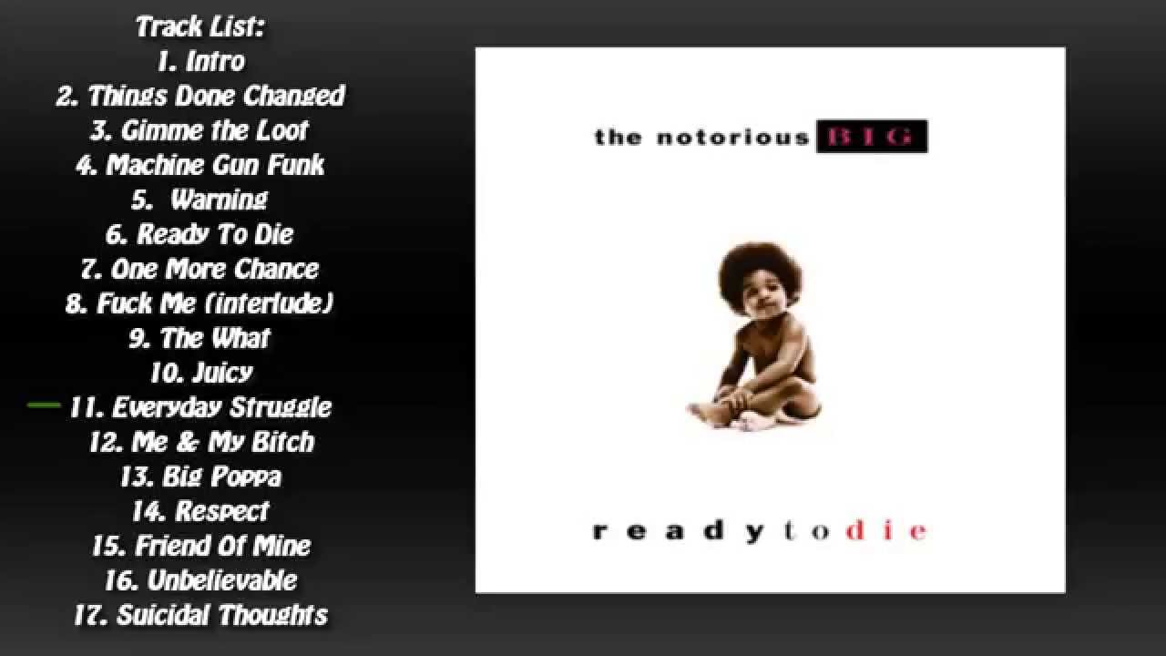 Ready To Die (1994) (Full Album) - The Notorious B.I.G ...