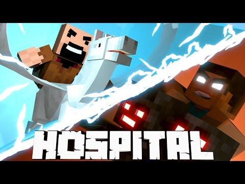 Minecraft Mods Hospital - Notch Vs Herobrine! (Atlantis Roleplay) #13