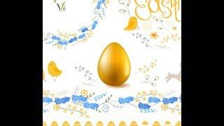 Урок для начинающих. Рисуем к Пасхе золотое яйцо средствами Gradient Mesh
