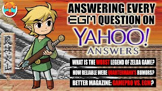 RIP Yahoo Answers: We Answer Every Question About Electronic Gaming Monthly - Defunct Games