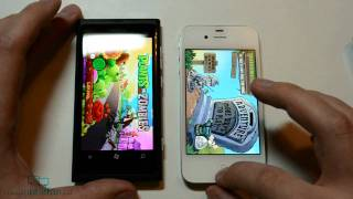 Nokia Lumia 800 vs iPhone 4S vs Sony Ericsson Xperia Neo (test & comparison)