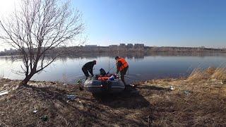 Открытие рыболовного сезона 2020 на реке Енисей