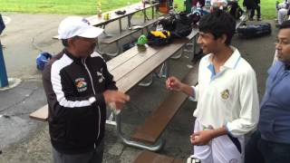 California cricket festival  2016: u12 draw