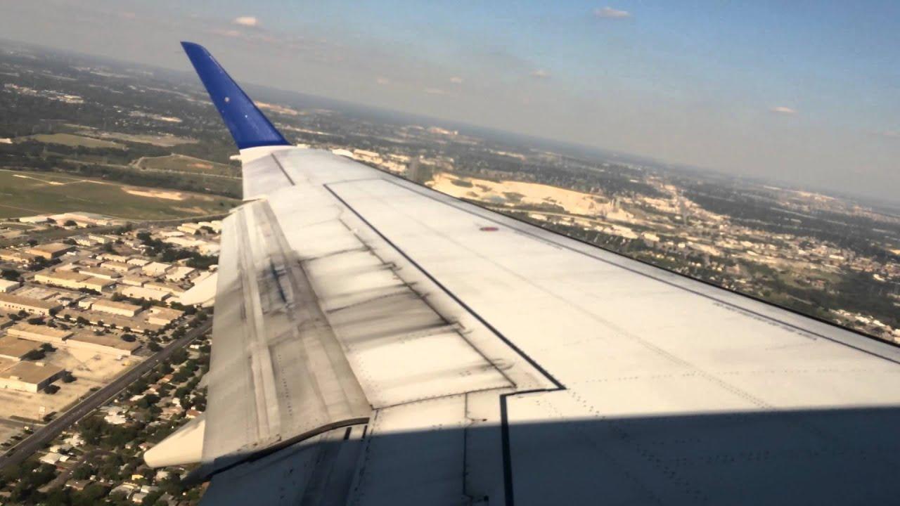 Takeoff From San Antonio International Airport On United
