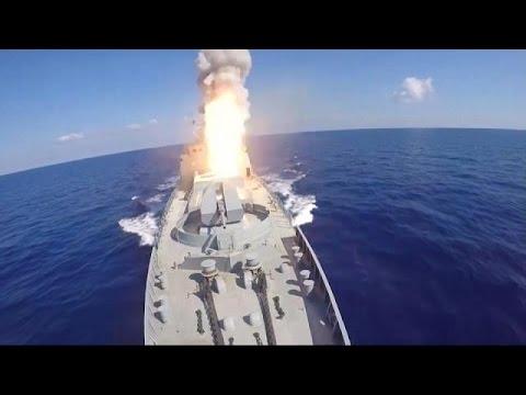 روسيا تقصف مواقع لتنظيم ما يسمى -الدولة الإسلامية- من المتوسط