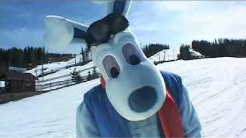 Wernerin kanssa hiihtokoulussa