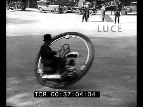L'invenzione della moto-ruota