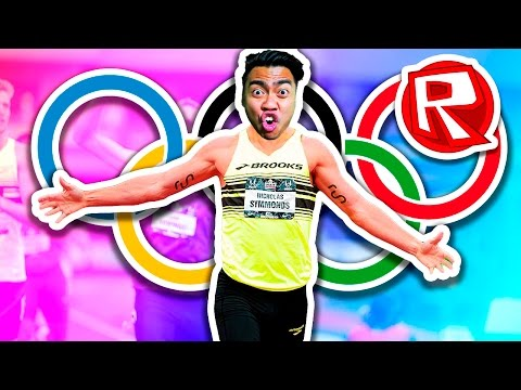 COMPETING IN THE OLYMPICS!   Roblox