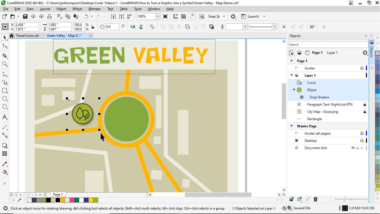 Creating And Using Symbols Corel Discovery Center