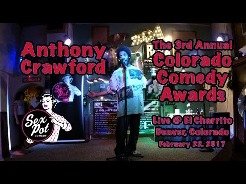 Anthony Crawford @ El Charrito 2/22/17 - 3rd Annual Colorado Comedy Awards