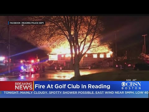 Fire Guts Meadow Brook Golf Club Clubhouse In Reading For Second Time In Nearly A Year