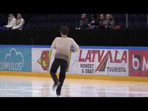 Figure Skating Senior Men Free Skating Valtter Virtanen