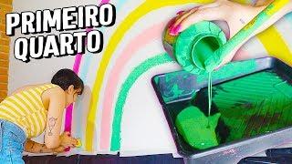 DIÁRIO DA REFORMA#3 - FAZENDO UMA PAREDE ARCO ÍRIS