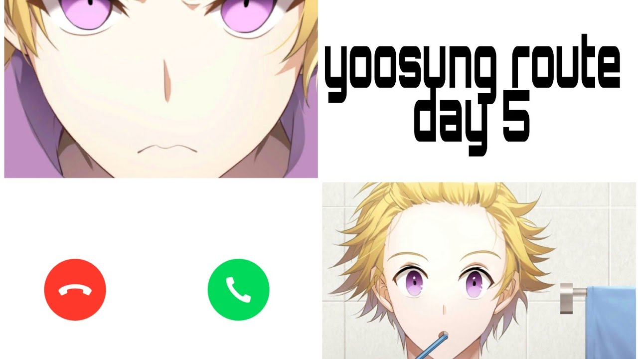 Mystic Messenger Yoosung Route Day 5 Good End Youtube