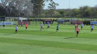 River Plate piensa en las semifinales ante Lanús