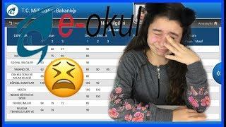 E-OKUL 1. DÖNEM DERS NOTLARIM BENCE KÖTÜ 😭😱 My Exam Grades #eokul #karne #esilabiltekin