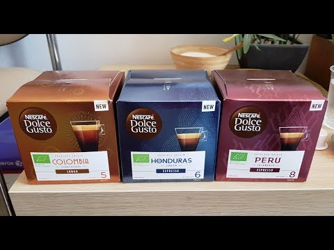How to...make espresso Nescafe Dolce Gusto - Limited Coffee Varieties: Colombia, Honduras & Peru