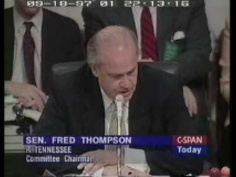 2/8 Roger Tamraz - US Senate - Hearings on Campaign Finance Reform
