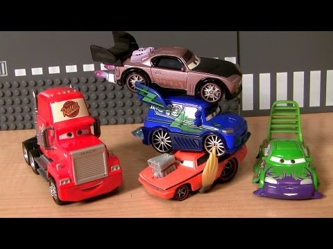 Cars 2 Boost with Flames Snot Rod Wingo DJ Disney Pixar car-toys tuners collection Radiator Springs