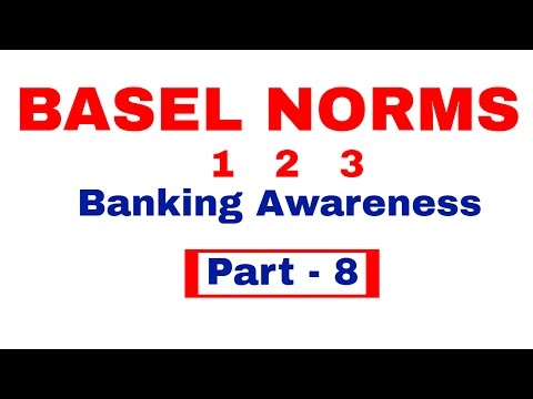 BASEL NORMS 1 2 3 - All you Need know | Banking Awareness Pa