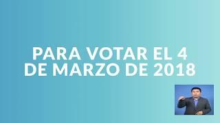 Para votar verifica tus datos en el Padrón Electoral