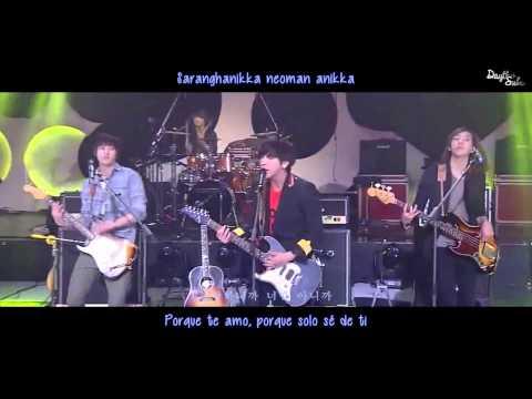 CNBLUE - Hey You [LIVE] [Sub español + Hangul + Roman]