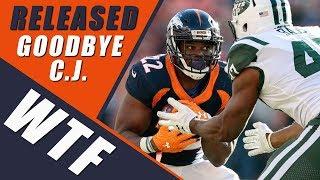 Denver Broncos Release C.J. Anderson