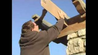 How To Build A Pergola - 7.scroll Pattern For Pergola