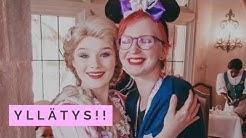 Lounas prinsessojen seurassa | Disneyland Pariisi 2019