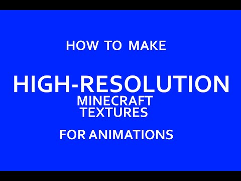 Exporting High Resolution Minecraft World Textures with Jmc-2-Obj