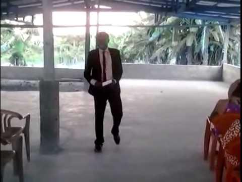 Prophet David Opoku. Preaching at Holy Ground