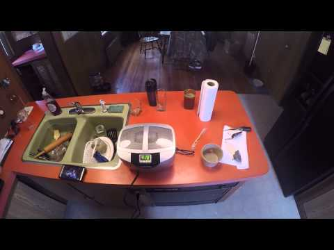 Ultrasonic carb cleaning