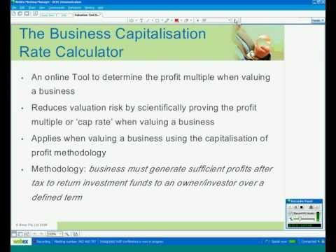 Business Valuation Tool Demonstration