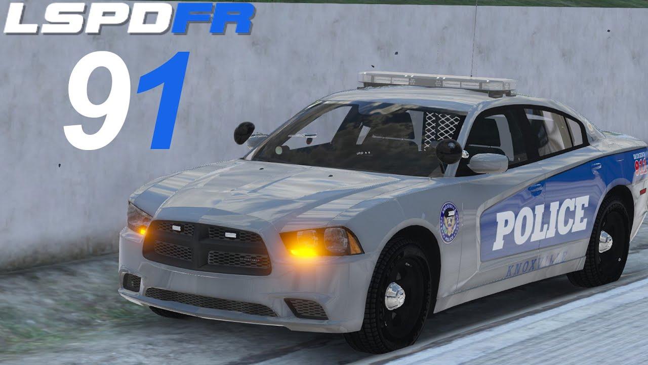 GTA 5 LSPDFR SP #91 Knoxville Police