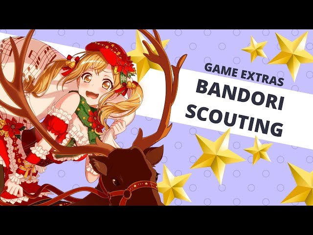 ☆[Game Extras] Bandori - Sparkling Christmas Gatcha 2500 Stars☆