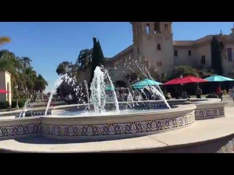 السندباد فلوق سان دييغو   من اهم الاماكن السياحية في سان دييغو منتزه بالبوا التاريخي والمريح
