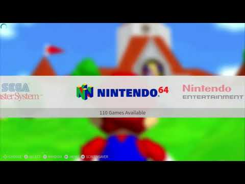 Original Xbox Running XBMC Emustation