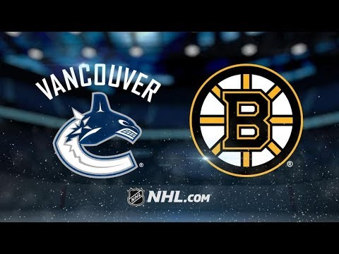Vancouver Canucks Vs. Boston Bruins | NHL Game Recap | October 19, 2017 | HD