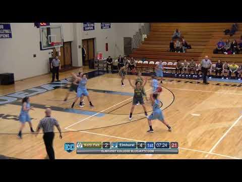 2018-01-10 Elmhurst College Women's Basketball Vs North Park University