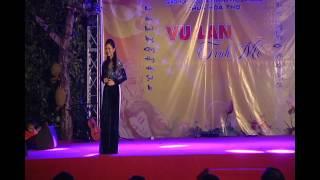 Người Mẹ Quê Nghèo - Ca Sĩ Thùy Trang diễn tại Chùa Hòa Thọ - Tp.Đà Nẵng