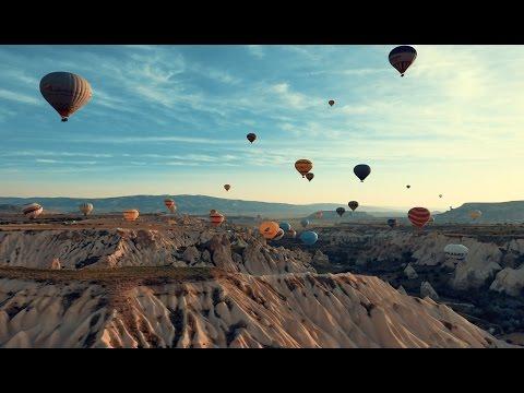 4K Balloons tour Timelapse in Cappadocia, Turkey//카파도키아 열기구 투어 타임랩스