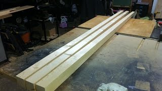 Make A Tapered Bed Post