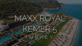 Лучший отель в Турции - Maxx Royal Kemer 5 обзор после карантина 2020