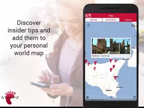 STAPPZ - The Real-Time Travel Guide App and Map Usage Overview
