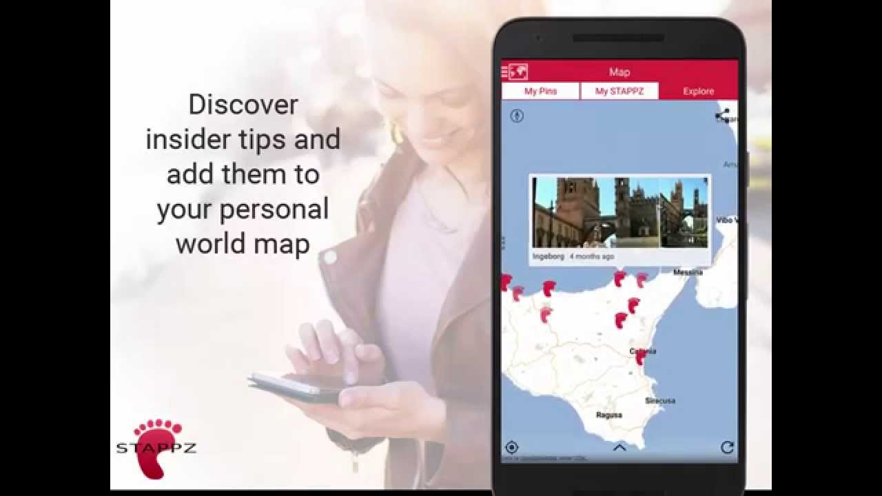 Stappz the real time travel guide app and map usage overview youtube stappz the real time travel guide app and map usage overview gumiabroncs Gallery