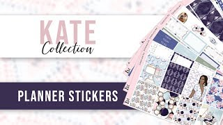 New Planner Sticker - Kate Collection